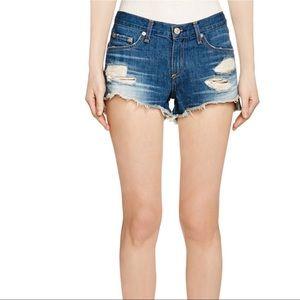 Rag & Bone Freeport Cut Off denim jean Shorts